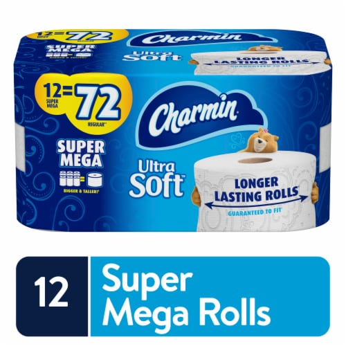 Charmin Ultra Soft Toilet Paper Perspective: front