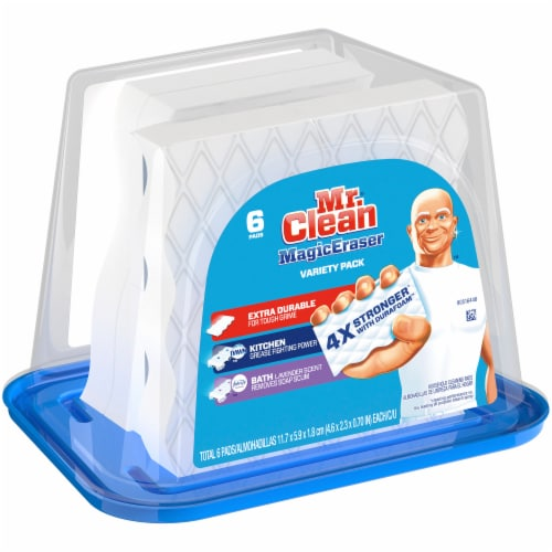 Mr. Clean Magic Eraser Cleaning Pads 6 Count Perspective: front
