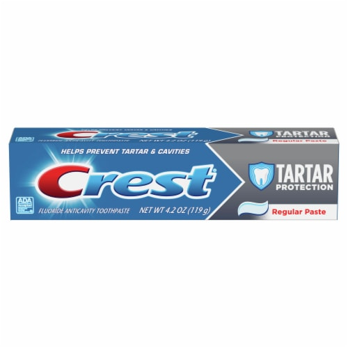 Crest Cavity Protection Toothpaste Perspective: front