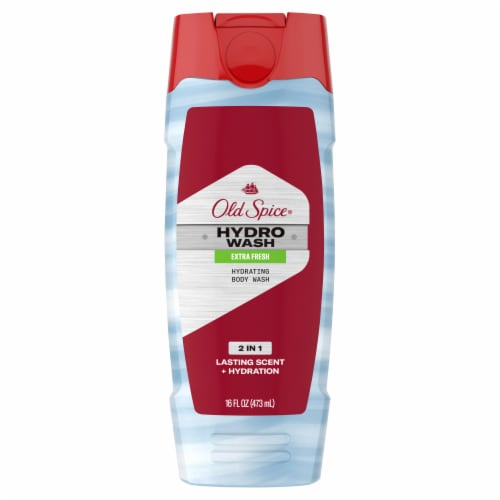Old Spice Hydro Wash Extra Fresh Hydrating Body Wash Perspective: front