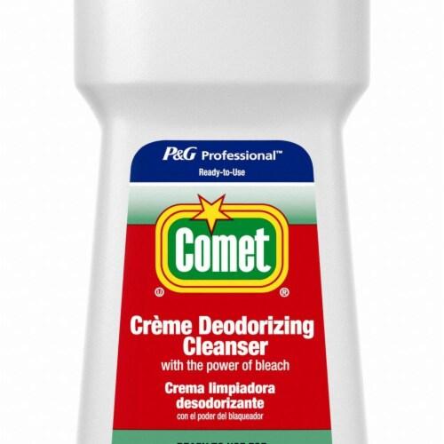 Comet Creme Deodorizing Cleanser, 32 Oz Bottle 73163EA Perspective: front