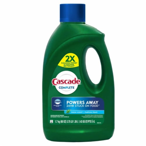 Cascade Complete Fresh Scent Dishwasher Detergent Perspective: front