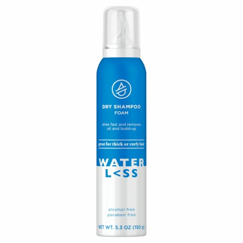 Waterless Dry Shampoo Foam Perspective: front