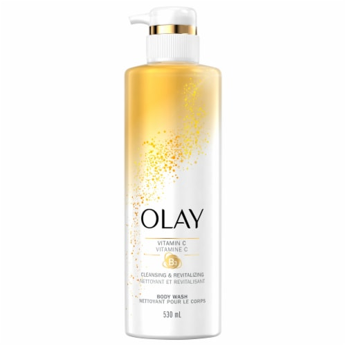 Olay Cleansing & Brightening Body Wash for Women Perspective: front