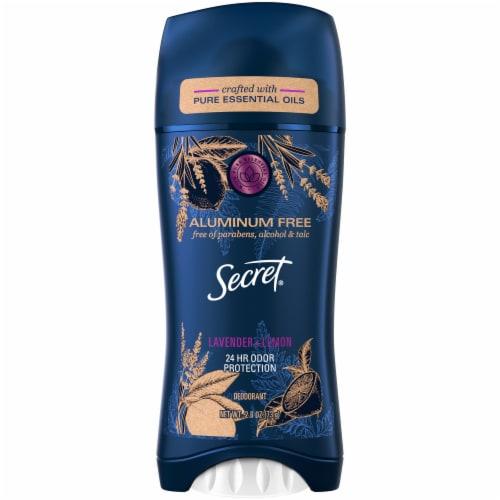 Secret Essential Oils Lavender & Lemon Deodorant Stick Perspective: front