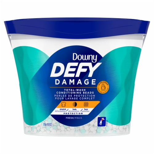 Downy Defy Damage Fresh Scent Total Wash Conditioning Beads Perspective: front