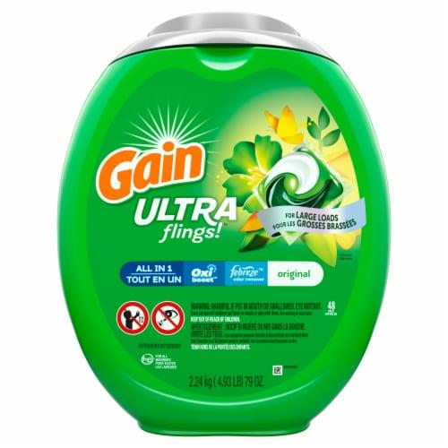 Gain® Ultra Flings Original Laundry Detergent Pods Perspective: front