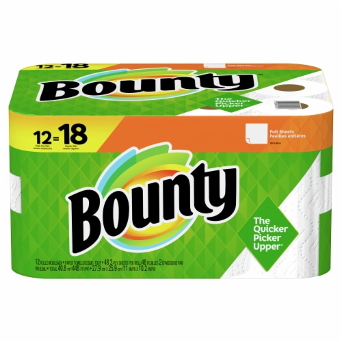 Bounty® Paper Towels Perspective: front