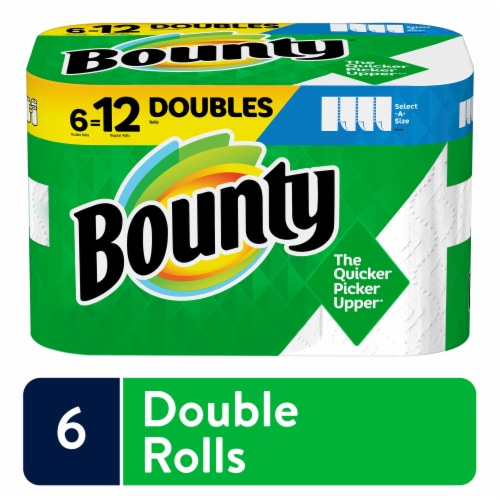 Bounty Base Select-A-Size 2 Ply Paper Towels Perspective: front