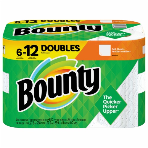 Bounty Base Regular Roll 2 Ply Paper Towels Perspective: front