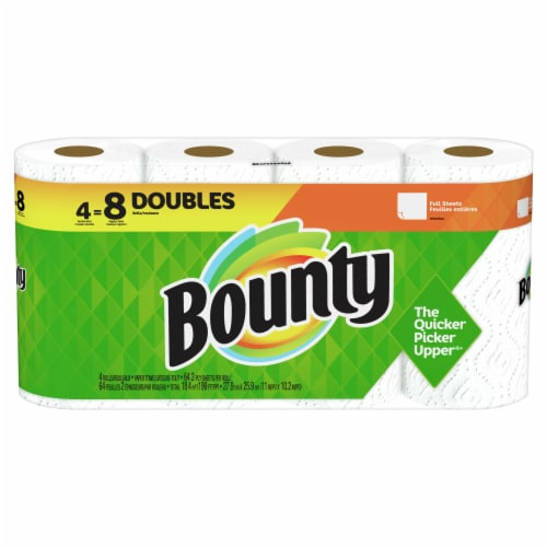 Bounty Base Regular 2-Ply Paper Towels Perspective: front