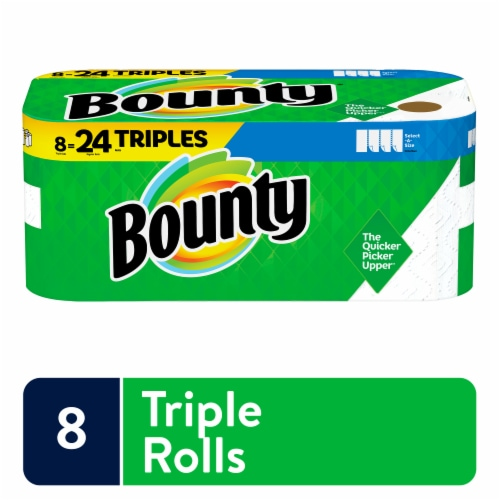 Bounty Base Select-A-Size Paper Towels Perspective: front