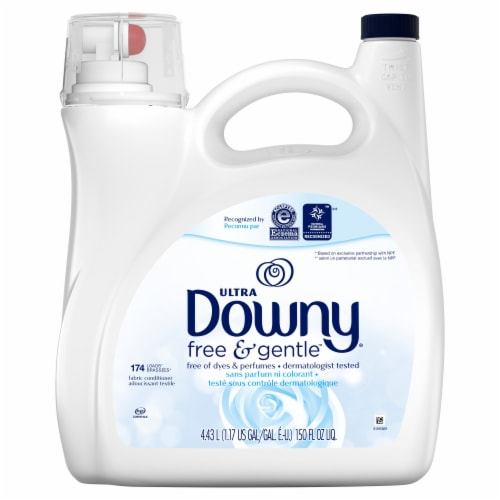 Downy Ultra Free & Gentle Fabric Conditioner Perspective: front