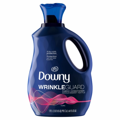 Downy Wrinkle Guard Floral Fabric Softener Perspective: front