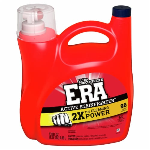 Era® Active Stainfighter™ Liquid Laundry Detergent Perspective: front