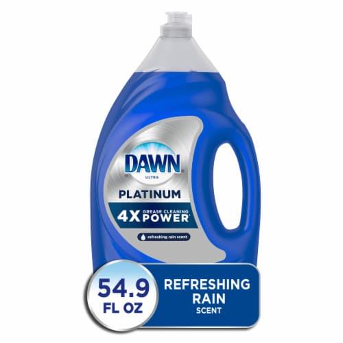 Dawn Platinum Hand Dishwashing Liquid Soap Perspective: front