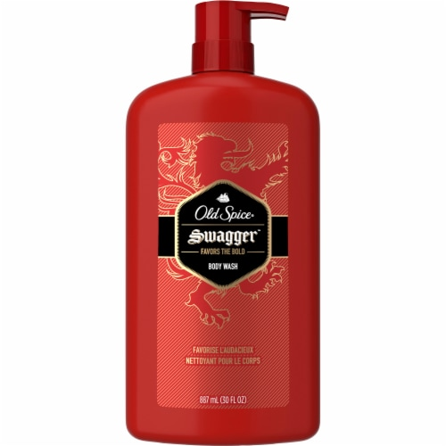 Old Spice Men Swagger Scent of Confidence Body Wash Perspective: front