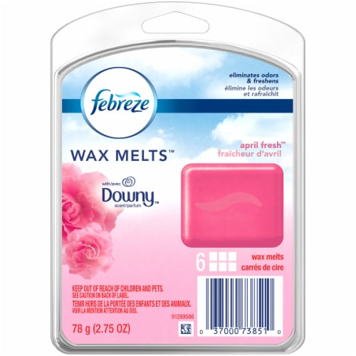 Febreze Downy April Fresh Wax Melts Air Freshener Refills Perspective: front