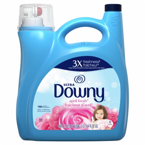 Downy® Ultra April Fresh Fabric Conditioner Perspective: front