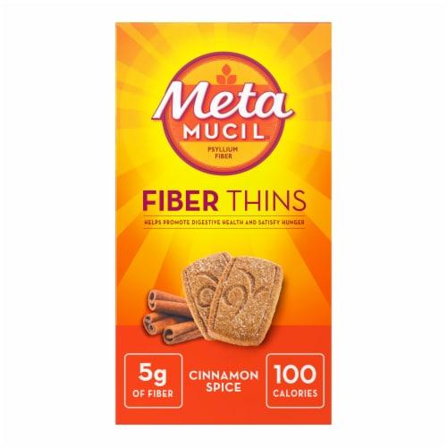 Metamucil Cinnamon Fiber Wafers Perspective: front
