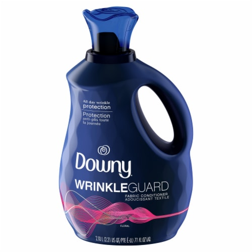 Downy® Wrinkle Guard Floral Fabric Conditioner Perspective: front