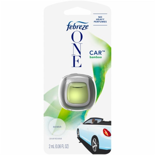 Febreze One Car™ Air Freshener Vent Clip - Bamboo Perspective: front