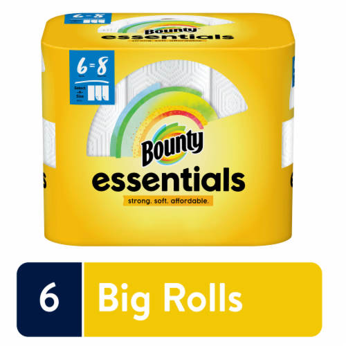 Bounty Essentials Select-a-Size Big Roll Paper Towels Perspective: front