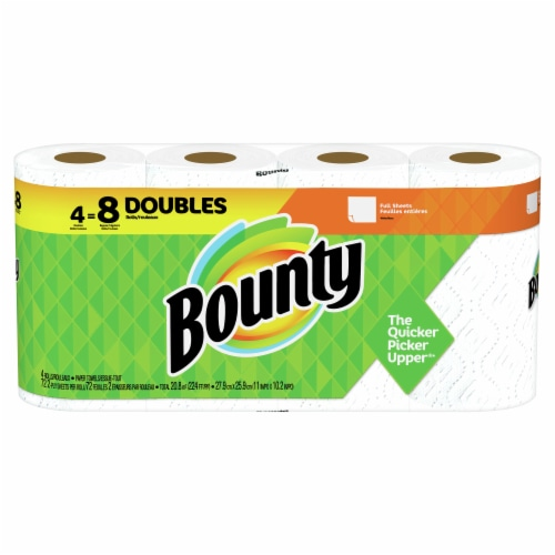 Bounty Full Sheets Paper Towels Perspective: front