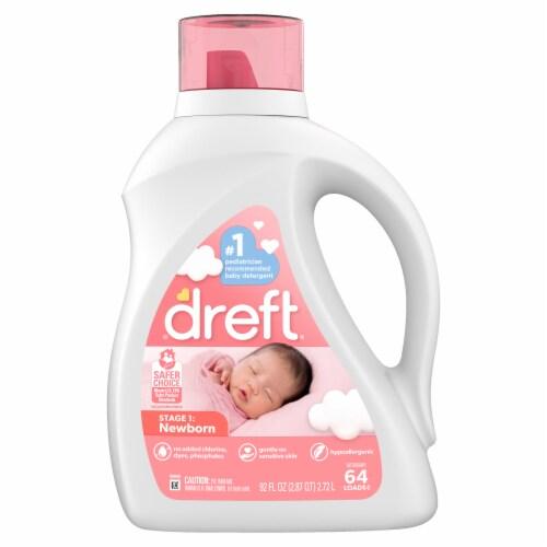 Dreft New Born Liquid Laundry Detergent Perspective: front