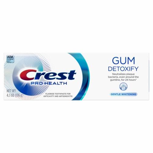 Crest Gum Detoxify Toothpaste Gentle Whitening Perspective: front