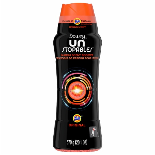 Downy Unstopables Tide Original In-Wash Scent Booster Perspective: front