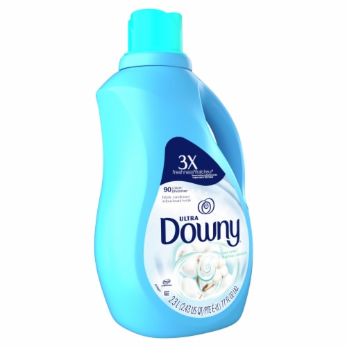 Downy Ultra Cool Cotton Liquid Fabric Conditioner Perspective: front