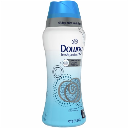Downy Fresh Protect Febreze Active Fresh In-Wash Odor Defense Scent Booster Beads Perspective: front