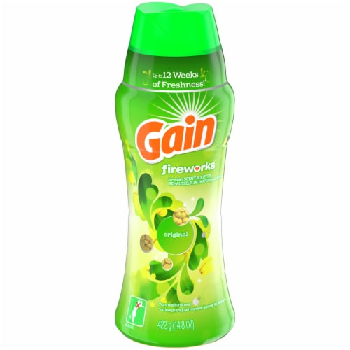 Gain Fireworks Original in-Wash Scent Booster Perspective: front