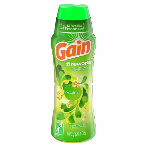 Gain Fireworks Original In-Wash Scent Booster Beads Perspective: front