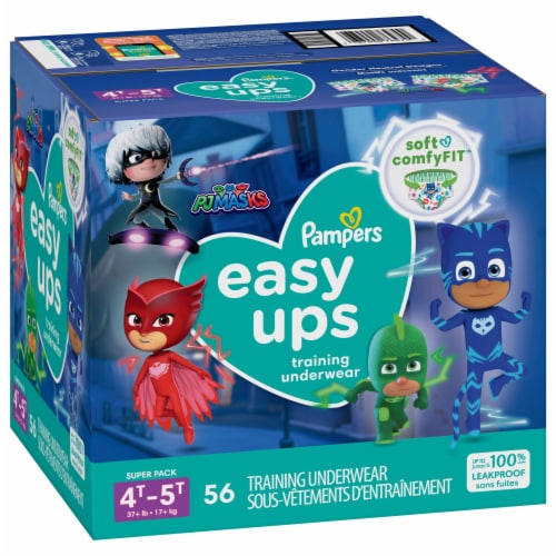 Pampers Easy Ups 4T-5T Boys Training Pants Perspective: front