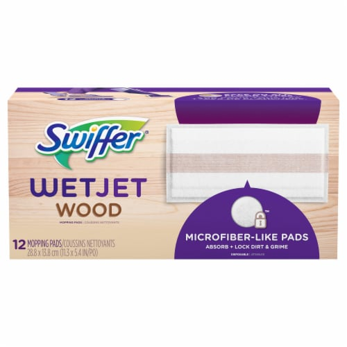Swiffer WetJet Wood Mopping Pads Perspective: front