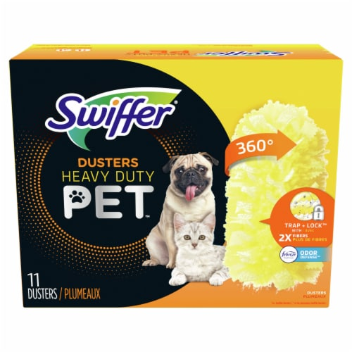 Swiffer Pet Heavy Duty Dusters Refills Perspective: front