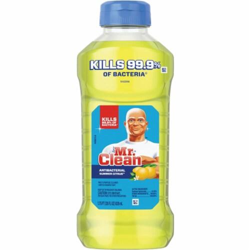 Mr. Clean Summer Citrus Antibacterial Multi-Purpose Cleaner Perspective: front