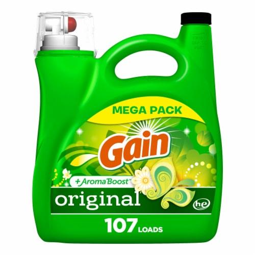 Gain® Original Liquid Laundry Detergent Perspective: front