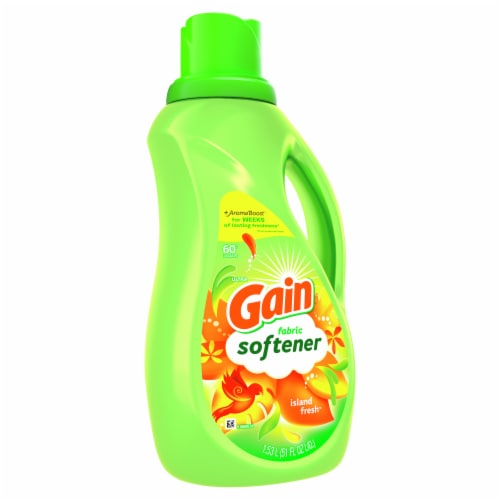 Gain Island Fresh Fabric Softener Perspective: front