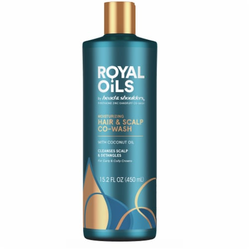 Head & Shoulders Royal Oils Moisturizing Co-Wash with Coconut Oil Perspective: front