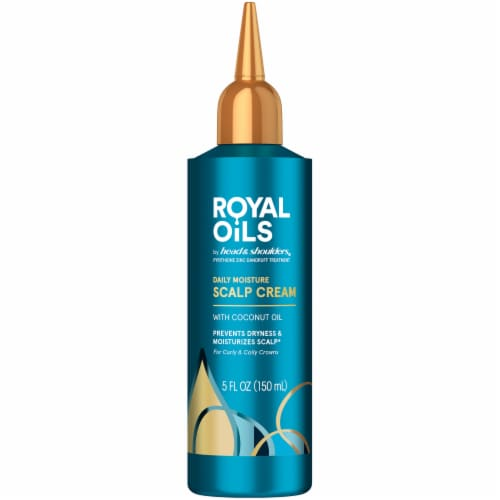 Head and Shoulders Royal Oils Daily Moisture Scalp Cream with Coconut Oil Perspective: front