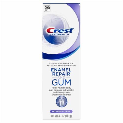 Crest Gum & Enamel Repair Toothpaste Intensive Clean Perspective: front