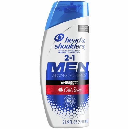 Head & Shoulders Old Spice Swagger Anti-Dandruff 2-in-1 Shampoo and Conditioner Perspective: front