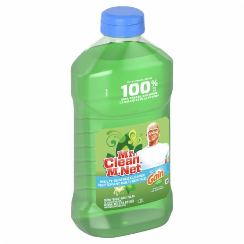 Mr. Clean Multi-Surface Liquid Cleaner Perspective: front