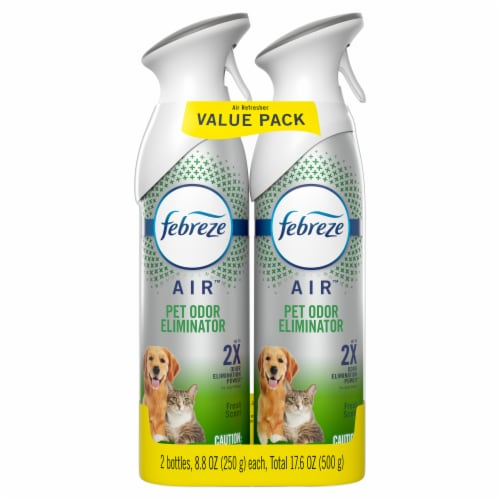 Febreze Air Fresh Scent Pet Odor Defense Air Refresher Perspective: front