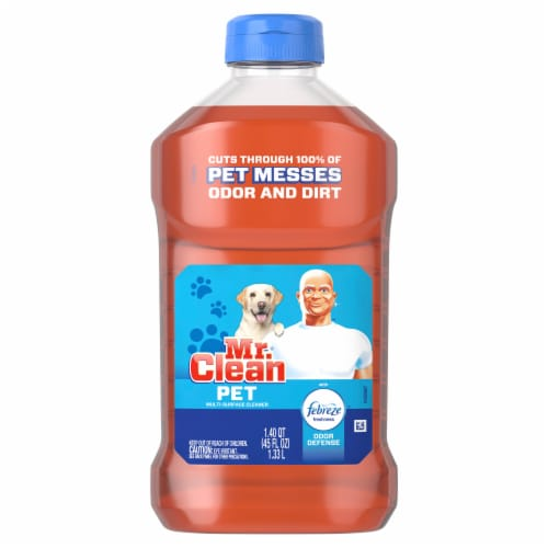Mr. Clean Pet with Febreze Odor Defense Multi Surface Cleaner Perspective: front