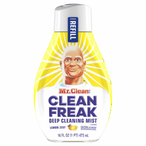 Mr. Clean Clean Freak Lemon Zest Deep Cleaning Mist Refill Perspective: front