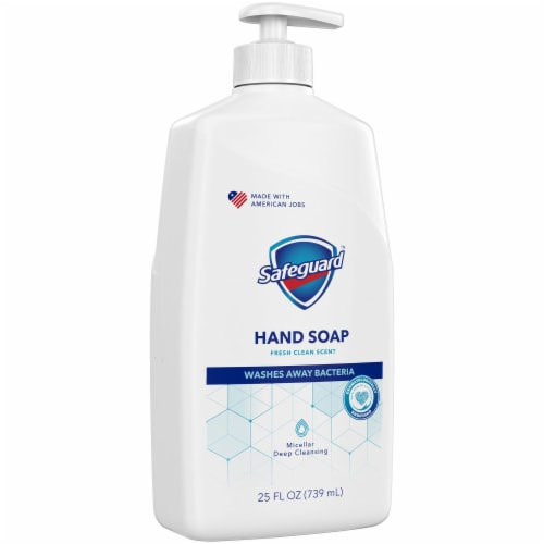 Safeguard Liquid Hand Soap Fresh Clean Scent Perspective: front